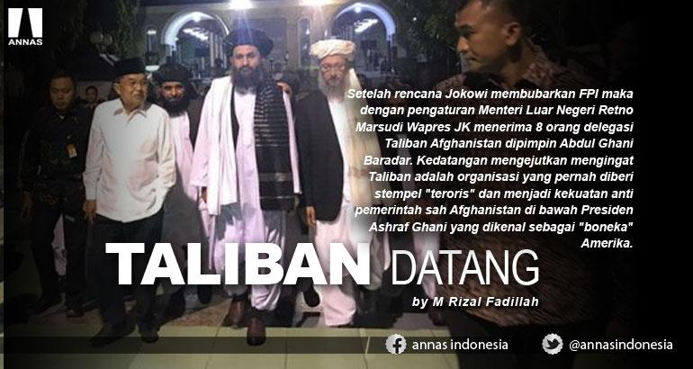 TALIBAN DATANG