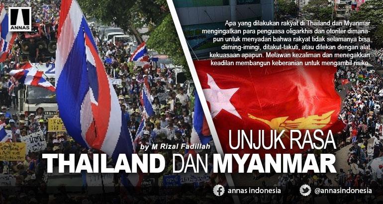UNJUK RASA THAILAND DAN MYANMAR