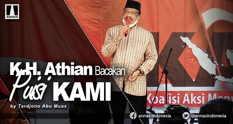 K.H. Athian Bacakan Puisi KAMI