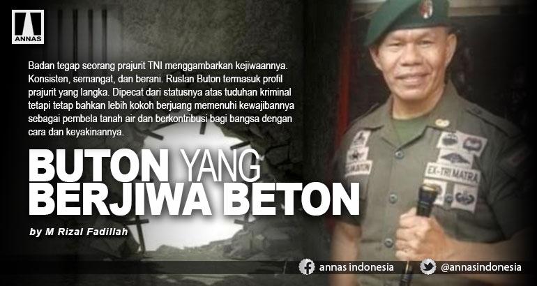 BUTON YANG BERJIWA BETON
