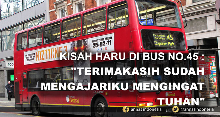 KISAH HARU DI BUS NO.45 :