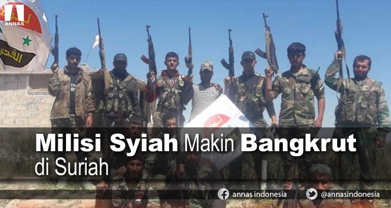 MILISI SYIAH MAKIN BANGKRUT DI SURIAH
