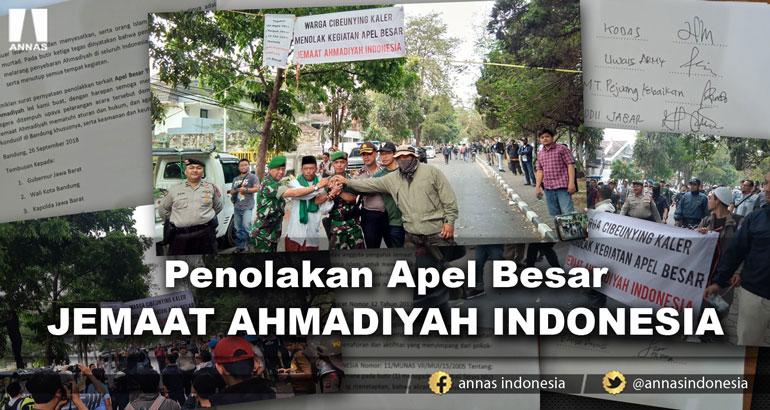 PENOLAKAN APEL BESAR JEMAAT AHMADIYAH INDONESIA