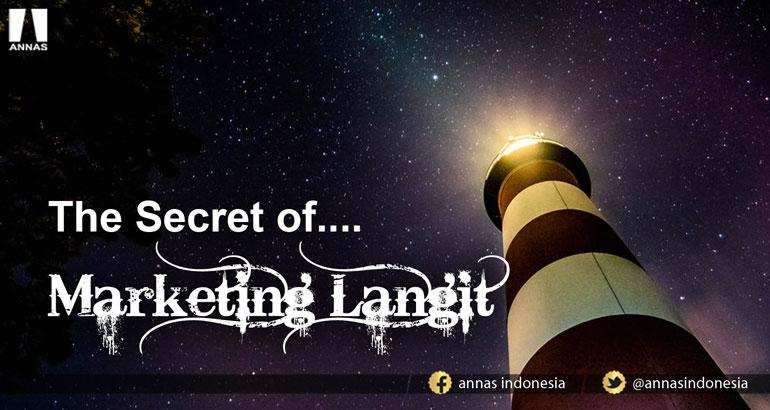 THE SECRET OF..... MARKETING LANGIT
