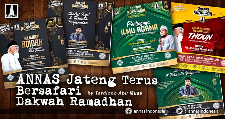 ANNAS Jateng Terus Bersafari Dakwah Ramadhan