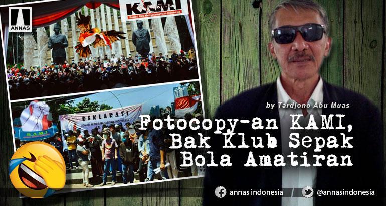 Fotocopy-an KAMI, Bak Klub Sepak Bola Amatiran
