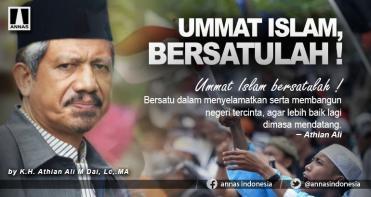 UMMAT ISLAM, BERSATULAH !