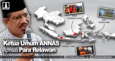 Ketua Umum ANNAS Apresiasi Para Relawan