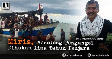 Miris, Menolong Pengungsi Dihukum Lima Tahun Penjara