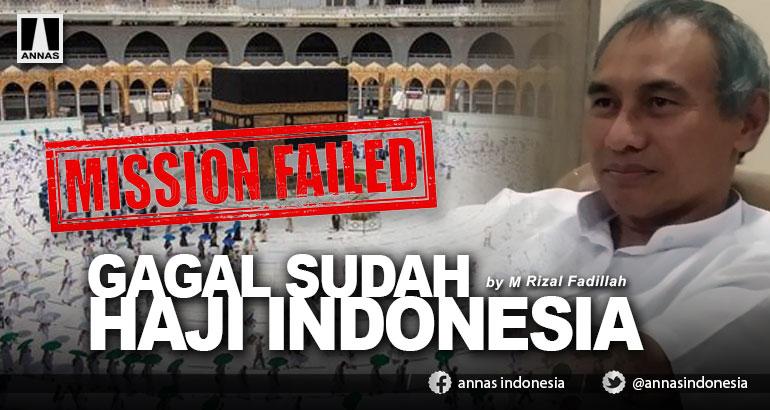 GAGAL SUDAH HAJI INDONESIA