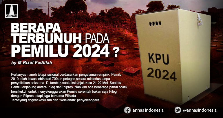 BERAPA TERBUNUH PADA PEMILU 2024 ?