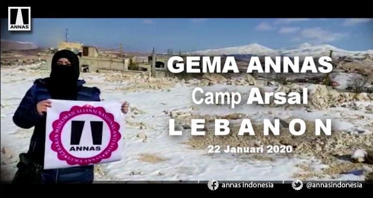 GEMA ANNAS - Camp ARSAL - LEBANON