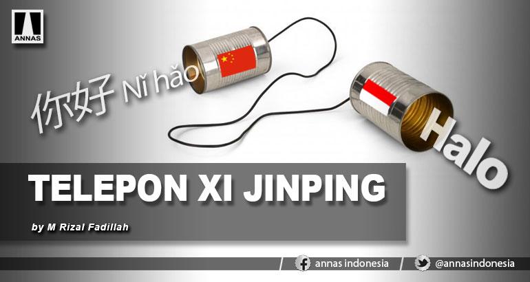 TELEPON XI JINPING