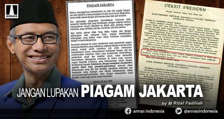 JANGAN LUPAKAN PIAGAM JAKARTA