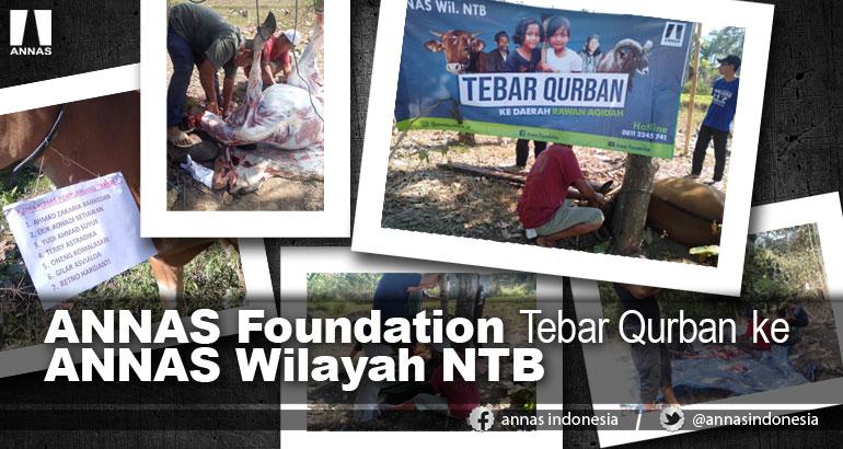 AF Tebar Qurban ke ANNAS Wilayah NTB