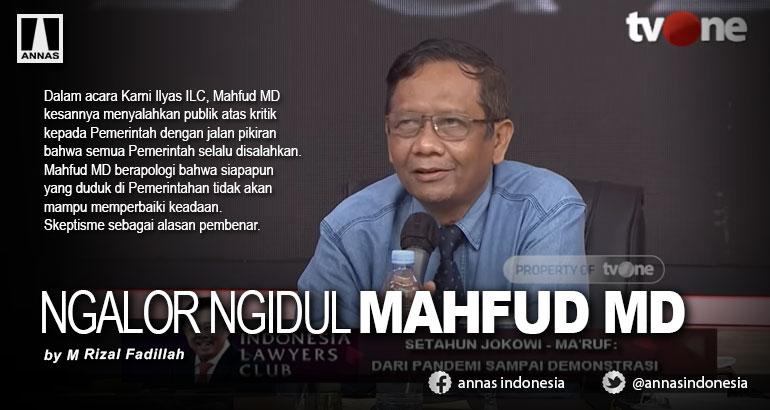 NGALOR NGIDUL MAHFUD MD