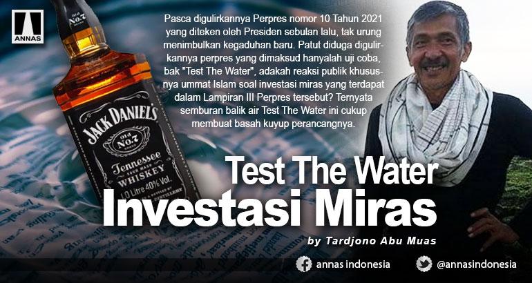 Test The Water Investasi Miras