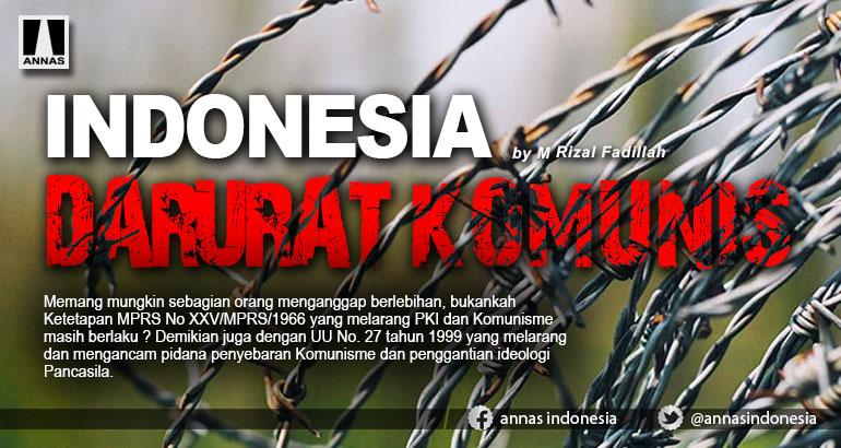 INDONESIA DARURAT KOMUNIS