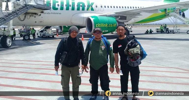 Sebagian Relawan ANNAS Peduli Lombok Tahap II kembali ke Bandung