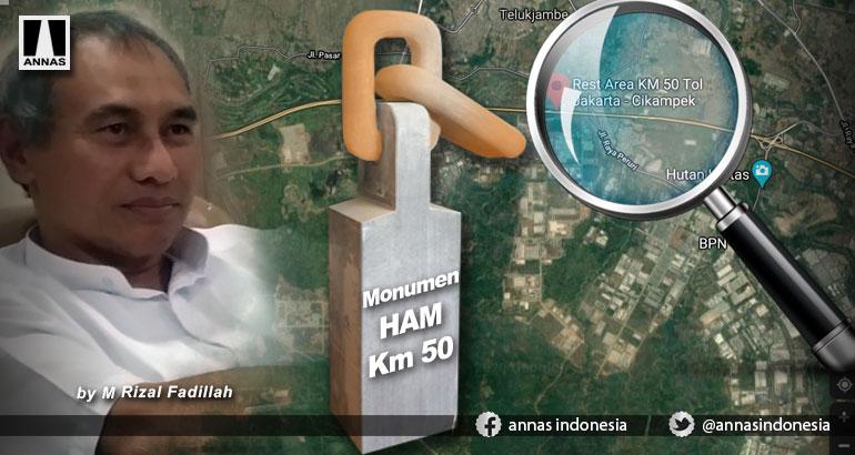 MONUMEN HAM KM 50