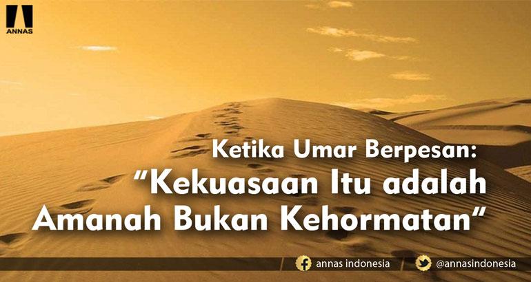 Ketika Umar Berpesan: