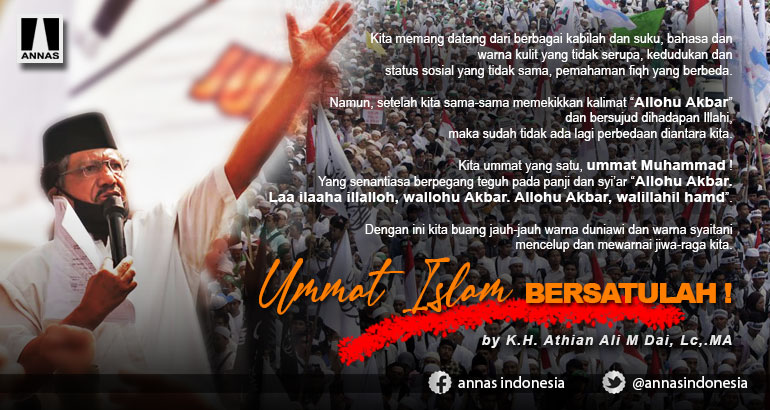 UMMAT ISLAM, BERSATULAH