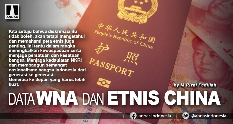 DATA WNA DAN ETNIS CHINA