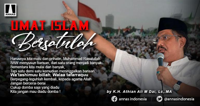 UMAT ISLAM, BERSATULAH