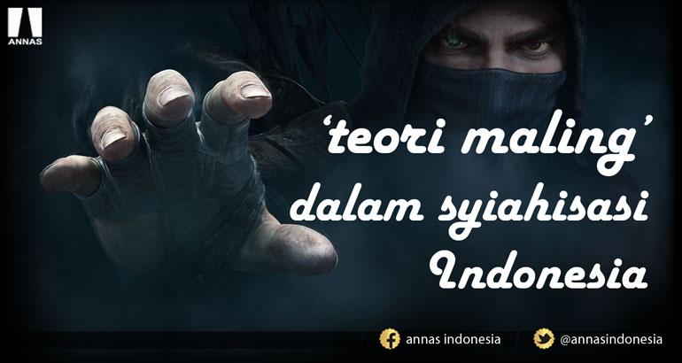 TEORI MALING DALAM SYIAHISASI INDONESIA