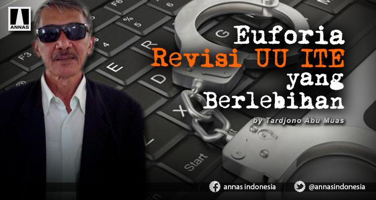 Euforia Revisi UU ITE yang Berlebihan