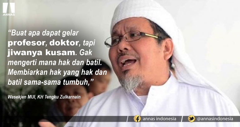 UIN MAKASSAR UNDANG PEMBICARA SYIAH, Begini Reaksi Tengku Zulkarnain