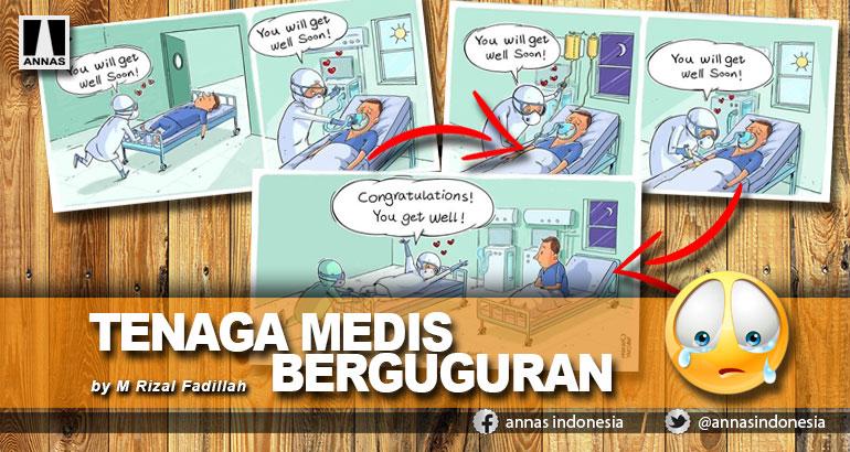 TENAGA MEDIS BERGUGURAN