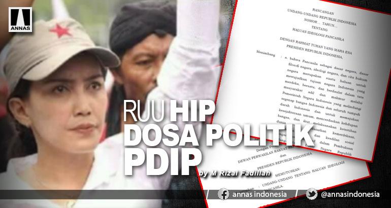 RUU HIP DOSA POLITIK PDIP