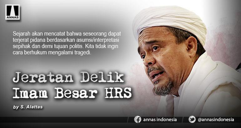 Jeratan Delik Imam Besar HRS