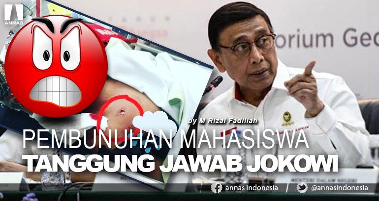 PEMBUNUHAN MAHASISWA TANGGUNG JAWAB JOKOWI