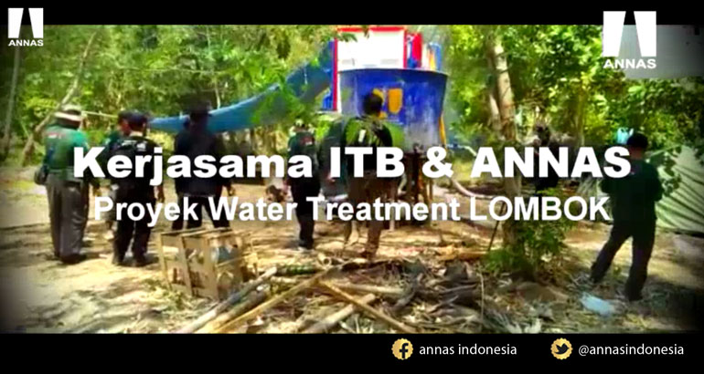 ANNAS PEDULI LOMBOK - WATER TREATMENT