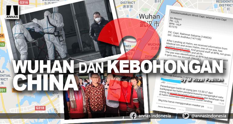 WUHAN DAN KEBOHONGAN CHINA