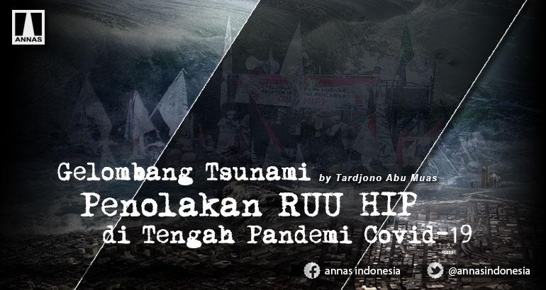 Gelombang Tsunami Penolakan RUU HIP di Tengah Pandemi Covid-19