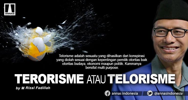 TERORISME ATAU TELORISME