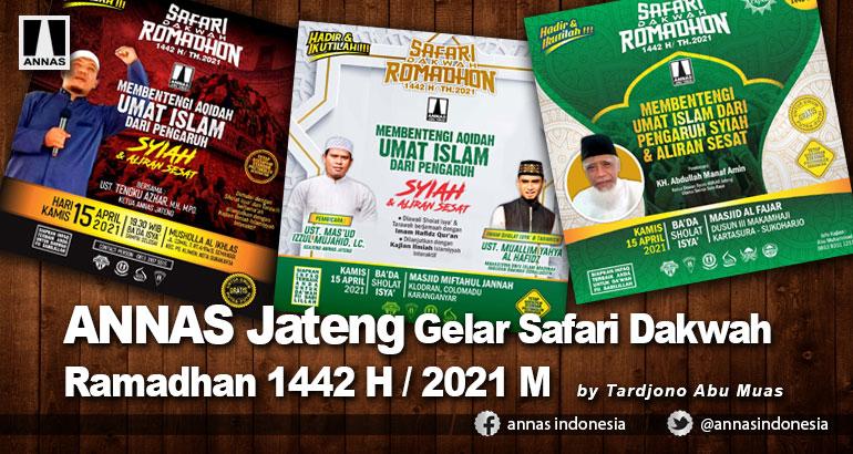 ANNAS Jateng Gelar Safari Dakwah Ramadhan 1442 H / 2021 M