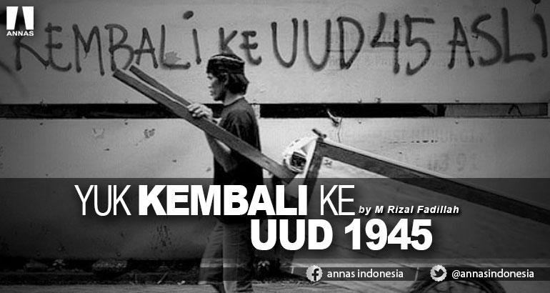 YUK KEMBALI KE UUD 1945