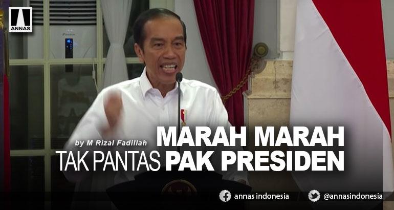 MARAH MARAH TAK PANTAS PAK PRESIDEN