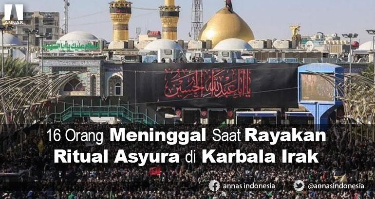 16 Orang Meninggal Saat Rayakan Ritual Asyura di Karbala Irak
