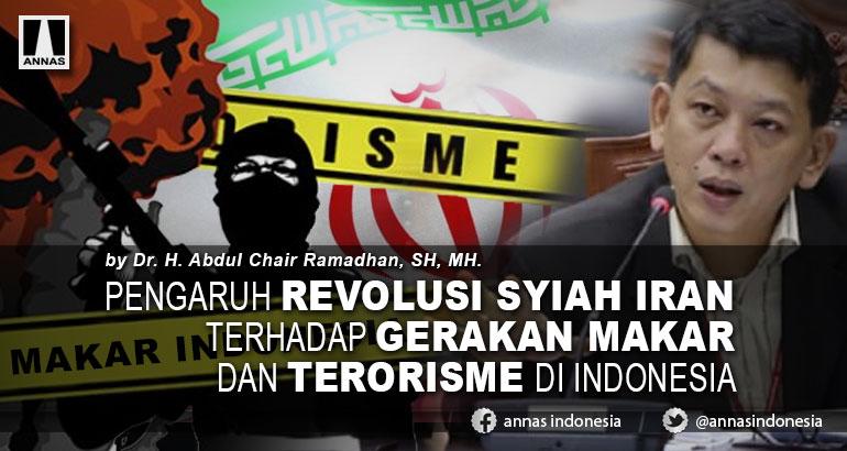 PENGARUH REVOLUSI SYIAH IRAN TERHADAP  GERAKAN MAKAR DAN TERORISME DI INDONESIA