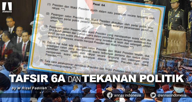 TAFSIR 6A DAN TEKANAN POLITIK