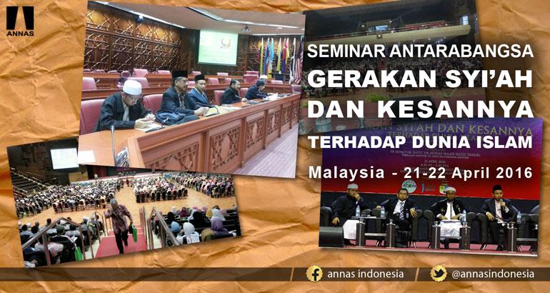 KESEPAKATAN SEMINAR ANTARABANGSA GERAKAN SYI'AH DAN KESANNYA TERHADAP DUNIA ISLAM - Malaysia
