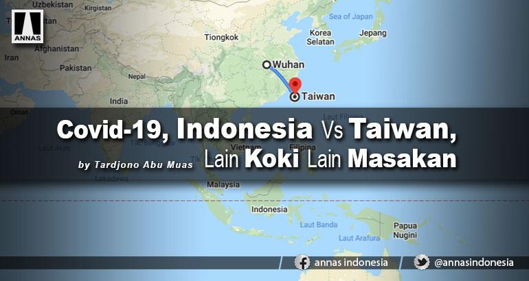 Covid-19, Indonesia Vs Taiwan, Lain Koki Lain Masakan