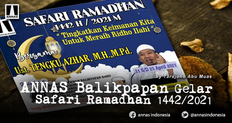ANNAS Balikpapan Gelar Safari Ramadhan 1442/2021