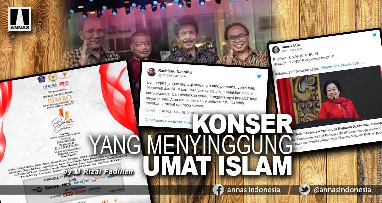 KONSER YANG MENYINGGUNG UMAT ISLAM